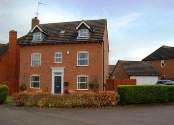 Thumbnail 5 bed detached house for sale in Quintonside, Grange Park, Northampton