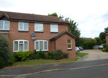 Thumbnail 1 bed flat for sale in Harlech Close, Worthing