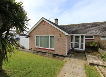 Thumbnail 2 bed semi-detached bungalow for sale in Peacock Avenue, Torpoint