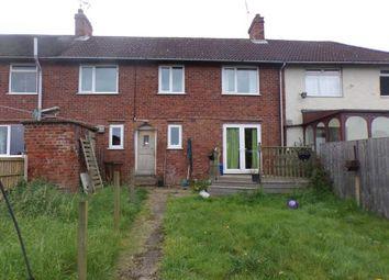 Thumbnail 3 bed terraced house for sale in 20 Laurel Avenue, Church Warsop, Mansfield, Nottinghamshire