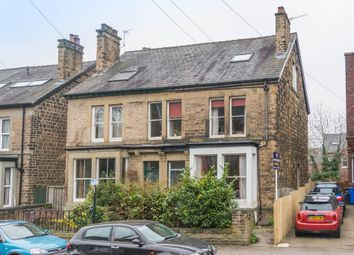Thumbnail 4 bed semi-detached house for sale in Endcliffe Rise Road, Sheffield