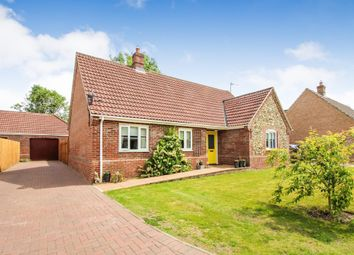 Thumbnail 3 bed detached bungalow for sale in Priors Grove, Yaxham, Dereham