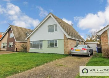 Thumbnail 3 bed detached house for sale in Kittiwake Close, Lowestoft