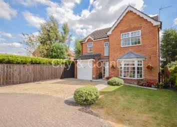 Thumbnail 4 bed detached house for sale in Milfoil Lane, Cowbit, Spalding