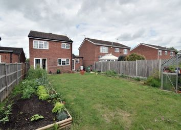 Thumbnail 3 bed detached house for sale in Stevenstone Close, Oadby, Leicester