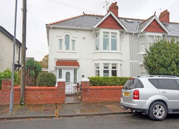 Thumbnail 5 bed semi-detached house for sale in Baron Road, Penarth