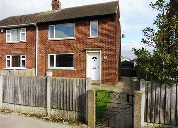 Thumbnail 2 bed semi-detached house to rent in Manor Road, Dinnington, Sheffield