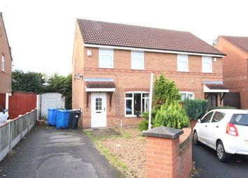 Thumbnail 2 bed semi-detached house for sale in Ravensdale Close, Warrington