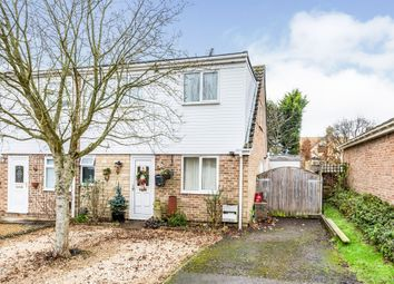 Thumbnail 4 bed semi-detached house for sale in Windmill Close, North Leigh, Witney