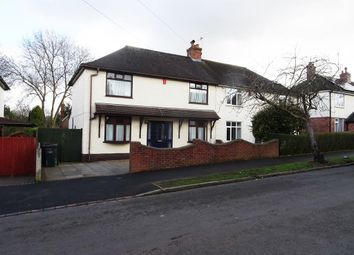 Thumbnail 3 bed semi-detached house to rent in Whitfield Avenue, Newcastle-Under-Lyme