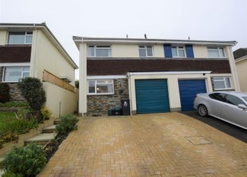 Thumbnail 3 bed semi-detached house for sale in Greig Drive, Barnstaple
