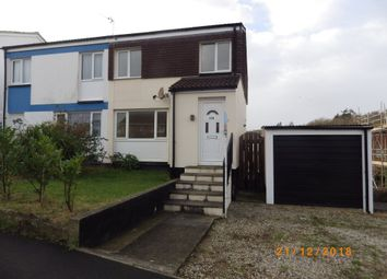 Thumbnail 3 bed semi-detached house to rent in Moreton Park Road, Bideford