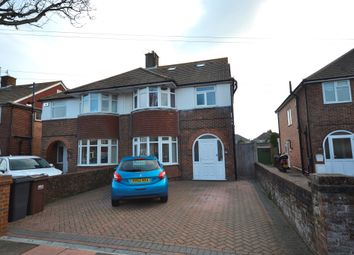 Thumbnail 5 bed semi-detached house for sale in Moy Avenue, Eastbourne