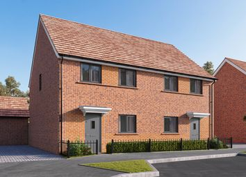 "Thumbnail 3 bed semi-detached house for sale in ""The Eveleigh"" at Wycke Hill, Maldon"