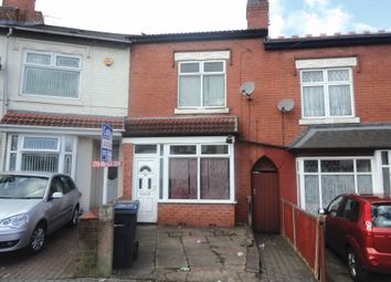 Thumbnail 3 bed terraced house for sale in Asquith Road, Birmingham, West Midlands
