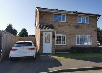 Thumbnail 2 bed semi-detached house for sale in Caradoc Close, St. Mellons, Cardiff