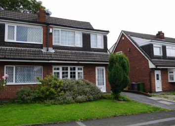 Thumbnail 3 bed property to rent in Marlbrook Drive, Westhoughton, Bolton