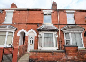Thumbnail 2 bed terraced house for sale in 52 West End Avenue, Doncaster