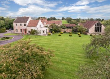 Thumbnail 6 bedroom detached house for sale in Burcott Manor, Pennybatch Lane, Burcott, Near Wells, Somerset