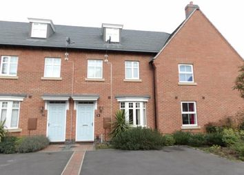 Thumbnail 3 bed terraced house for sale in Crowson Drive, Quorn, Loughborough, Leicestershire