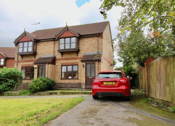 Thumbnail 2 bed semi-detached house to rent in Lodge Drive, Branston, Lincoln
