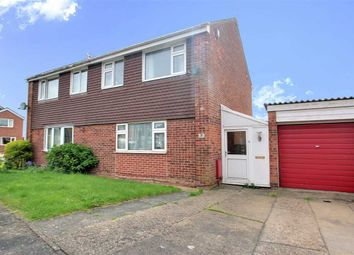 Thumbnail 3 bed semi-detached house for sale in Weymouth Close, Lincoln