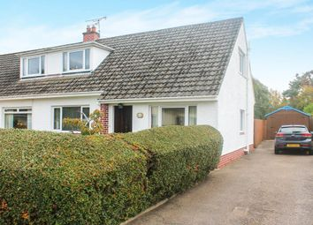 Thumbnail 3 bed semi-detached house for sale in Moy Terrace, Inverness