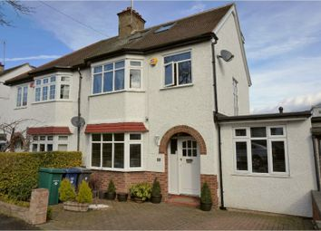 Thumbnail 4 bed semi-detached house for sale in Newton Avenue, London