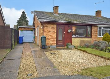 Thumbnail 2 bed semi-detached bungalow for sale in Priory Crescent, Roade, Northampton