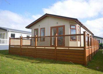 Thumbnail 2 bed lodge for sale in Carlton Meres Holiday Park, Rendham Road, Carlton, Saxmundham