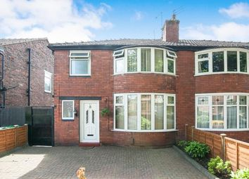Thumbnail 3 bed semi-detached house for sale in Mauldeth Road, Manchester, Greater Manchester
