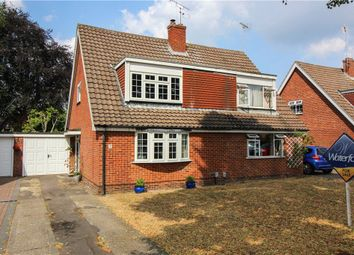Thumbnail 3 bed semi-detached house for sale in Home Park Road, Yateley, Hampshire