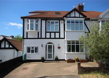 Thumbnail 5 bed semi-detached house for sale in Stadium Road, Henleaze, Bristol