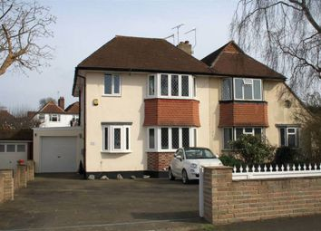 Thumbnail 4 bedroom semi-detached house for sale in Eastdean Avenue, Epsom