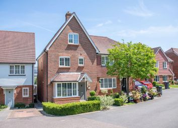 Thumbnail 4 bed semi-detached house for sale in Larch End, Uckfield