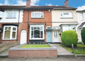 Thumbnail 2 bedroom terraced house for sale in Highfield Road, Hall Green, Birmingham