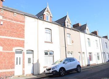 Thumbnail 3 bed terraced house for sale in Wharton Street, Hartlepool