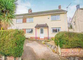 Thumbnail 3 bedroom semi-detached house for sale in Pant Glas, Pentwyn, Cardiff