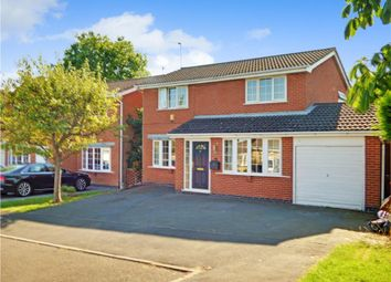 Thumbnail 4 bed detached house for sale in Gorsty Leys, Derby