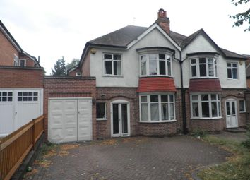 Thumbnail 3 bed property to rent in Stonerwood Avenue, Hall Green, Birmingham