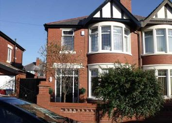 Thumbnail 3 bedroom property to rent in Argyll Road, North Shore, Blackpool