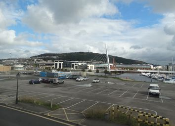 Thumbnail 1 bed flat to rent in Cambrian Place, Maritime Quarter Swansea