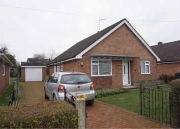 Thumbnail 3 bed detached bungalow for sale in Norfolk Road, Borras