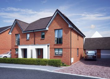 Thumbnail 3 bed semi-detached house for sale in William Morris Way, Tadpole Garden Village, Swindon