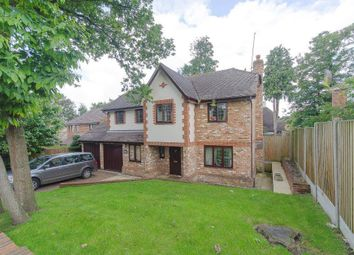 Thumbnail 5 bed detached house to rent in Cranmer Close, Weybridge
