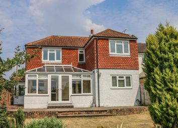Thumbnail 4 bed detached house to rent in Woodlands Road, Bookham, Leatherhead