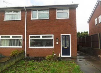 Thumbnail 3 bed semi-detached house to rent in Skye Close, Meir Hay, Stoke On Trent