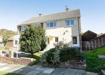 Thumbnail 2 bed semi-detached house for sale in Old Folkestone Road, Dover