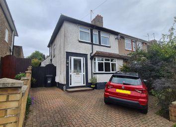 Thumbnail Semi-detached house for sale in Fullingdale Road, Abington, Northampton