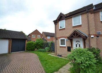Thumbnail 2 bed semi-detached house for sale in Chesterton Drive, Stanwell, Staines
